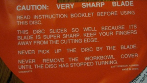 I can't wait to test out how sharp this blade really is - sponge, shoe leather, what else can I toss in there?
