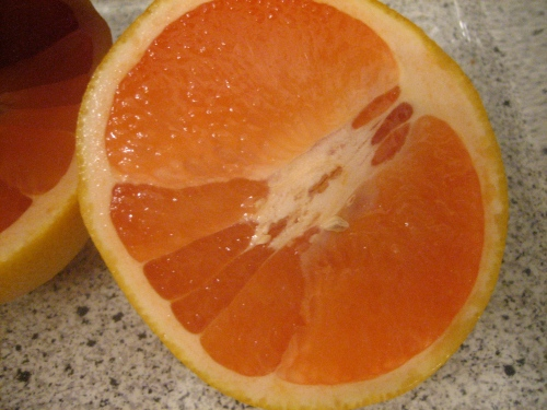 Baking Grapefruit