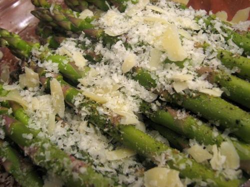 Cheesy Asparagus